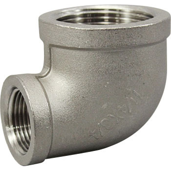 Reducing Elbow Stainless Steel Made Threaded Pipe Joints, White