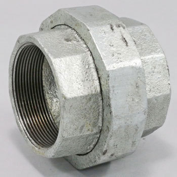 Union Malleable Cast Pipe Fitting White