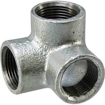 Special elbow malleable cast iron pipe fitting (white) 3 / 4B