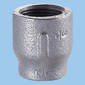 Reducing Socket Malleable Cast Pipe Fitting White