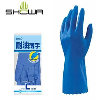 Oil-Resistant Thin Gloves No.160