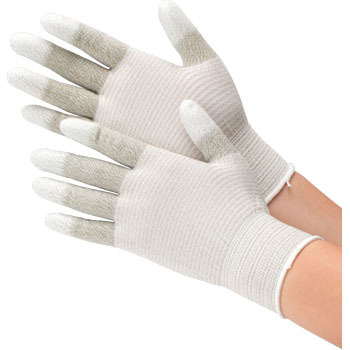 Electric Line Top Gloves