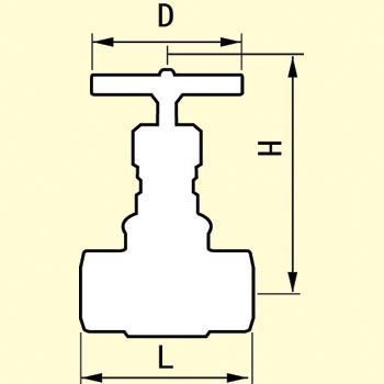 Malleable General Use 10K Type Round Shaped Valve