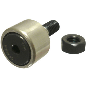 Six Square Hole Equipped Cam Follower Cf Type Seal Non Cylindrical Outer Rings