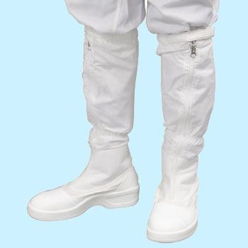 Long Boots With A Fastener, Static Electricity Safety Shoes