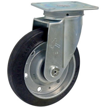 420S Swivel Caster, Rubber, With B, Wheel