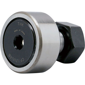 Cam follower CF-AB-type (cylindrical outer ring, with cage, with seal)