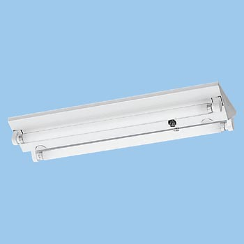 Ceiling Fluorescent Lamp Base, Shade, FL20 Type x2 Glow Type Low Power Factor