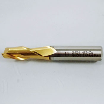 G medium end mill, double bladed