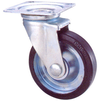 STM Swivel Caster, Rubber Wheel