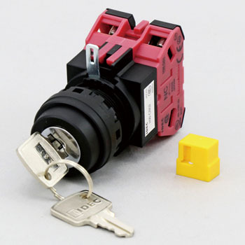 Selector Switch with Key