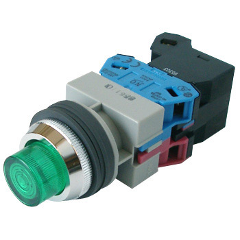 phi25 TWS series illuminated pushbutton switch (protruding incandescent)