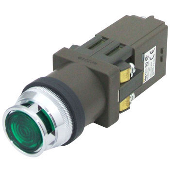 phi30 series illuminated pushbutton switch (with protrusion Furugado incandescent) E12