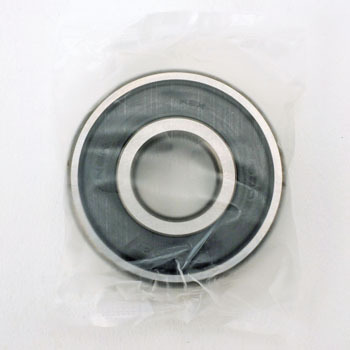 Single-Row Deep Groove Ball Bearing No. 6300 Stand Vv, Both-Sides Non-Contact Rubber Seal Type