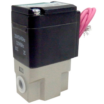 Fab-Series 2-Port Solenoid Direct Acting Valve,Electric Current Passage Closed Type