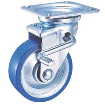 STM Swivel Caster, Urethan WheelsWith W Stopper