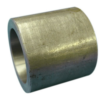 High pressure plug type welded round coupling