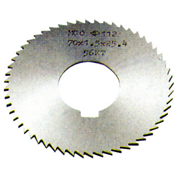 Screw slotting cutters size 70 (72 pieces blades)