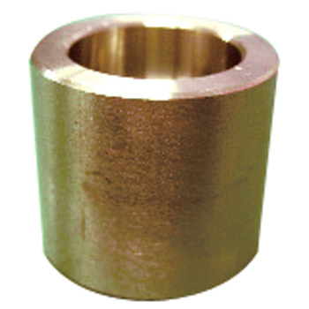 High pressure plug type stainless steel welded round coupling