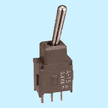 Basic lever type toggle switch A series PC - H terminal type (single pole  double throw)