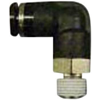 Air equipment and parts tube fitting air hose outside diameter phi6 0  (L-type)