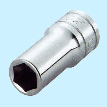 Semi deep socket (six angles)