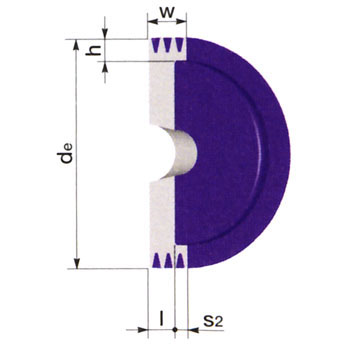 Ismec SP Pulley SPZ - 3