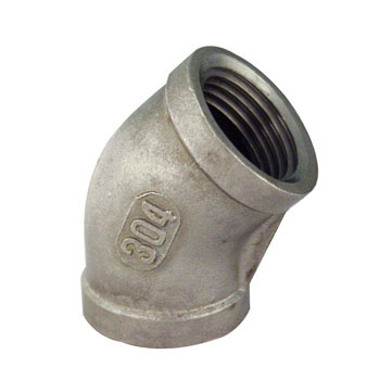 Pipe Fitting, 45 Elbow