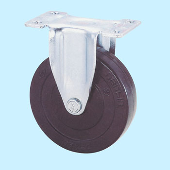 Kel Rigid Caster, Rubber Wheel