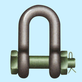 Green pin shackle (straight type , U shape) Bolt type