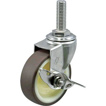 Stainless Steel 315EA And Swivel Caster with Stopper, Nylon Wheel Urethane Vehicle