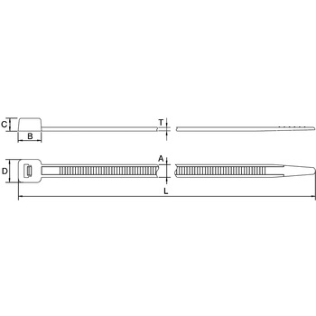 Insulation Lock Tie Ab Series