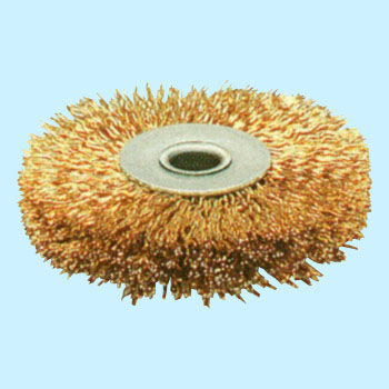 Steel Wire Plating Wire Press Wheel Brush