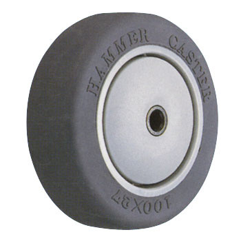 Wheel, Elastomer, W/BWheel429E-Lb