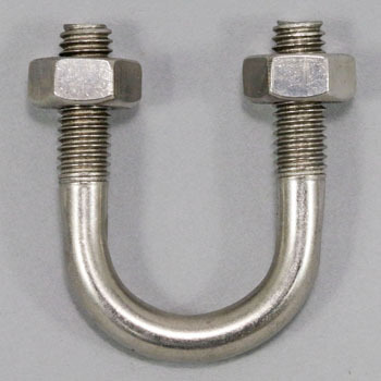 U-bolt W3 / 8 stainless steel for the PCU