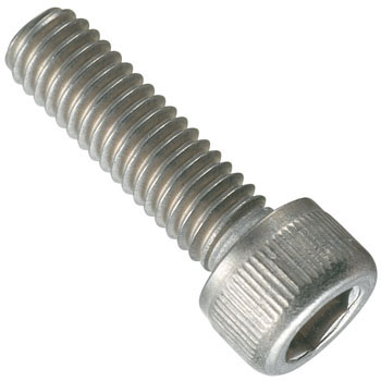 Titanium Hex Head Bolt, Full Threaded