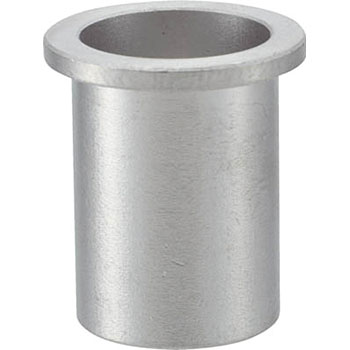 Crimped Nut, Stainless Steel, Flat Head