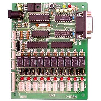 Serial connection relay board