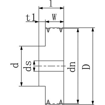 VP pulley B1