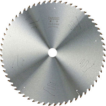Large circular saw for woodworking Tipped (vertically and horizontally combined use)