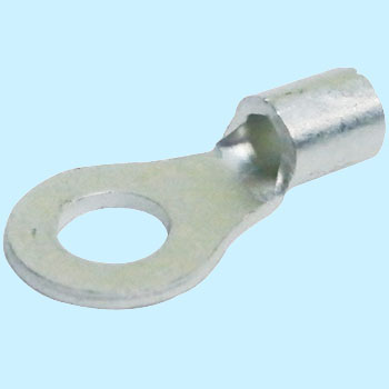Bare Crimping Terminal for Copper Wires, R Type