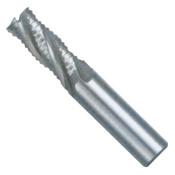 Roughing end mill short