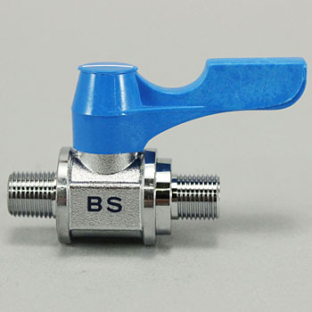 Ace Ball Straight Type, Both Outer Screw Type, Handle Color Blue