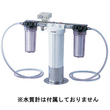 Ion exchange element type pure water device