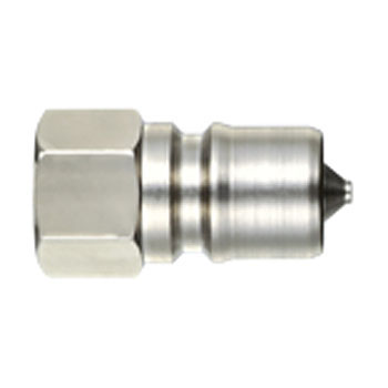 SP coupler Type A plug (made of steel, fluorine rubber seal)