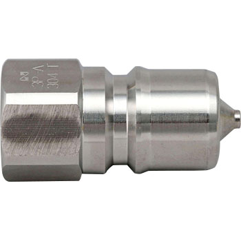 Sp Coupler Typea Plug, Made From Stainless Steel, And Fluoride Rubber Seal