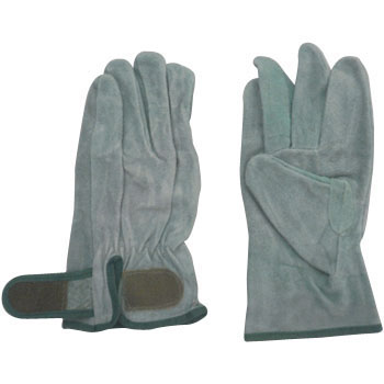Cow Split Leather Gloves Magic, Oil Processing) 6P