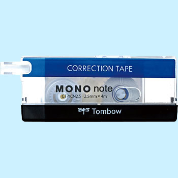 Correction tape mono notebook