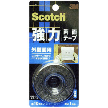 Scotch Powerful Both Sides Tape For External Wall Surface