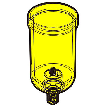 Air-Filter Bowl Assembly CKD Filters, Regulator Parts